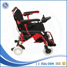 the Trunk/Boot Four Wheels Power Chair Manufacturer Power Wheelchair for Handicapped People Rehab