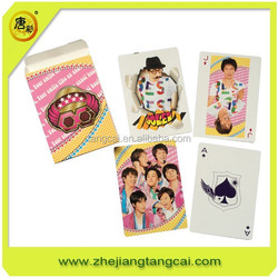 jumbo playing cards/jumbo paper playing cards/ custom jumbo poker