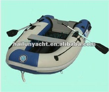 pvc rubber used fishing boat (HLL300)