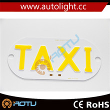 New LED Taxi Cab Top Sign Light Lamp Roof Magnetic Yellow