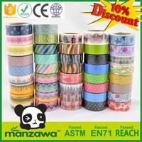 Free samples wholesale japanese washi paper masking tape