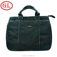 2015 new product quilted shoulder computer bag Nylon notebook computer bag genuine leather bag