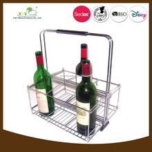 New product in China stainless steel wine bottle holder