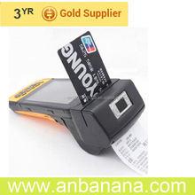 "Advanced 4.5"" camera gprs gps fingerprint 10 inch small touch pos monitor"