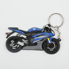 Yamaha Blue Fashion Motorcycle Model Key Chain Punk Cool Keyring