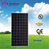 Renewable energy equipment monocrystalline solar panels 200w