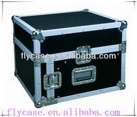 12U pro heavy duty keyboard drum aluminum storage flight case