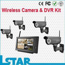 2015 new design IR waterproof wireless cctv camera system