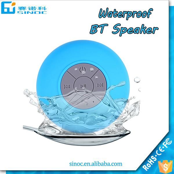Usine en gros De Douche Étanche Bluetooth Haut-Parleur, bluetooth haut-parleur étanche