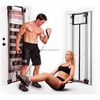 Foam Handle & 200LBS Resistance Tube Body Shaper Exercise Gym