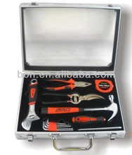 12pcs promotion gift tool set with aluminium dispaly case