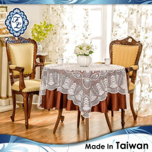 Premium Square Crochet Lace Table Overlay