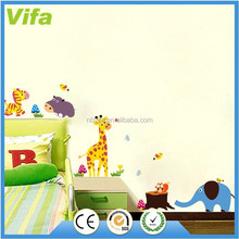 Cute Animals Wall Stickers Nursery Decor Baby Kids Art Mural Removable