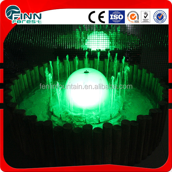 indoor small stainless steel mushroom water fountain