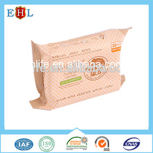 Hot china products Organic Small MOQ good quality airline wet wipes