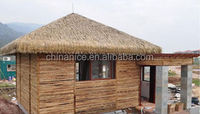 attic roofing building material of synthetic thatch tile
