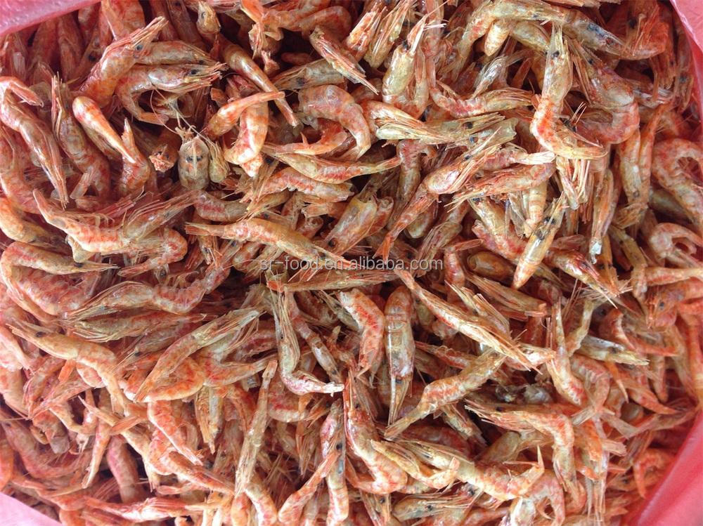 Замороженные сушеные красная креветка