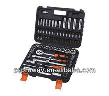 86pcs 1/2&1/4 dr.metric star socket wrench set,ratchet socket wrench