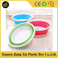 Collapsible Silicone Wash basin for washing foot