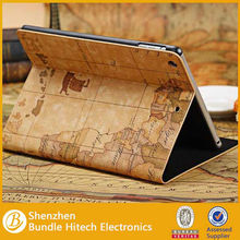Retro World Map Leather Case For ipad Air ipad 5