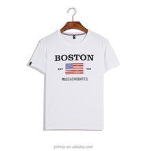 White and black mens cotton t-shirt printing,top quality fashion t-shirt for promotion China supplier