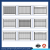 fence pickets for aluminum decorative barrier fence, swimming pool safety fence, perimeter fence security