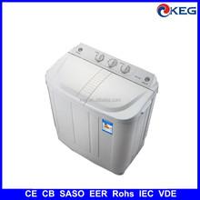 5kg mini twin tub washing machine with CB SASO EER