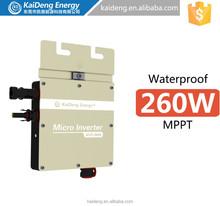 New Year Sale!! 260w micro inverter, 110V 60HZ for USA CANADA MEXICO DOMINICA JAMAICA