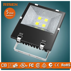 High lumen ce rohs approved ip65 500w led marine flood light for sports stadium