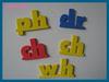 custom magnetic alphabet letter stickers