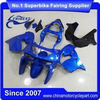 FFKKA008 Motorcycle Fairings For ZX 9R ZX9R 1998 1999 Blue