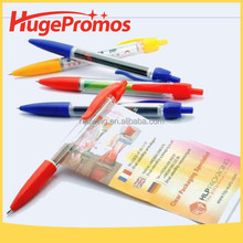 Custom Retractable Advertising Pen with Banner