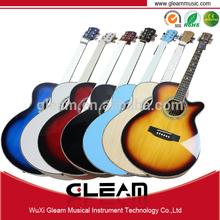 40 pulgadas guitarra Cutaway con alta calidad