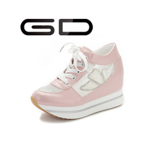 2015 women fashion platform sneakers