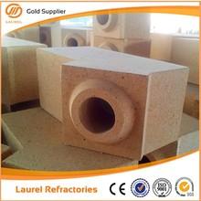 bassa porosità allumina fuoco mattoni di argilla per la fornace di vetro conil buon prezzo