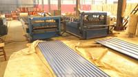Galvanized sheet metal roofing / corrugated gi galvanized steel sheet