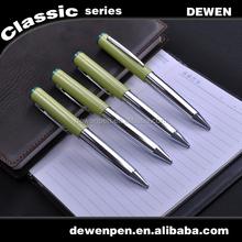green light color pen cap metal ball pen twist metal pen promotion product
