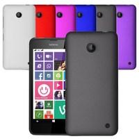 Hybrid Matte Hard Back Case Cover For Nokia Lumia 630
