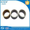 Self lubrication and abrasion resistant plastic peek sleeve