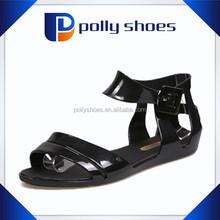2015 newest sex high heel fashion women black sandals 36-41