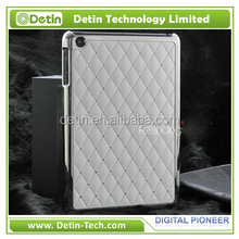 Luxury Chromed Leather Pasted 7.85 inch Tablet Case for iPad mini