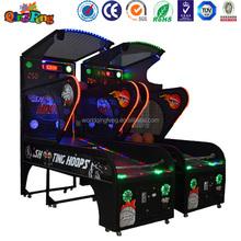 Indoor arcade hoops cabinet basketball game/extreme hoops electronic basketball game.Trade assurance supplier