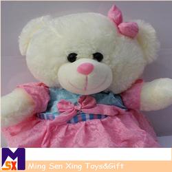 Wholesale cute stuffed soft toys mini custom plush teddy bear toys