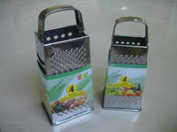 stainless steel grater with four side