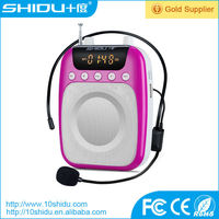 portable small size voice amplifier loudspeaker megaphone with bluetooth speaker for cellphone