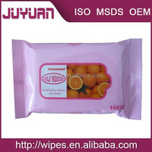 citrus wipes and private label for hands cleaning