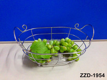 high quality wire fancy gift basket for promotion