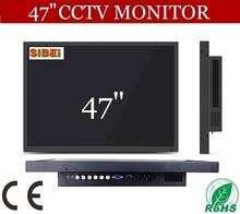 "wide screen VGA DVI dual input super clear 47"" led computer monitor"