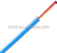 2.5mm2 electrical wire single core copper wire pvc insulated copper wire