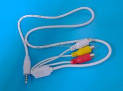 Audio cable rca cable audio rca usb female to rca vga rca cable